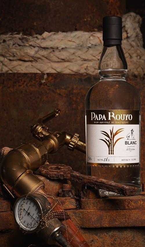 bouteille alambic papa rouyo--